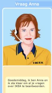 Anna van Ikea